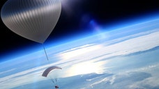 A new type of space tourism is set to lift off two years from now, without the aid of a rocket.