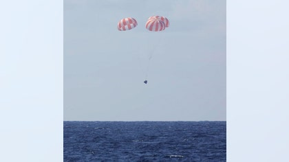 SpaceX's robotic Dragon capsule returned to Earth today Thursday, wrapping up the private spaceflight company's sixth cargo mission to the International Space Station.