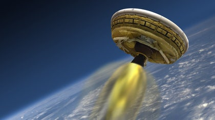 NASA has given the world another glimpse of its revolutionary flying saucer technology, which will play a crucial role in future Mars missions.