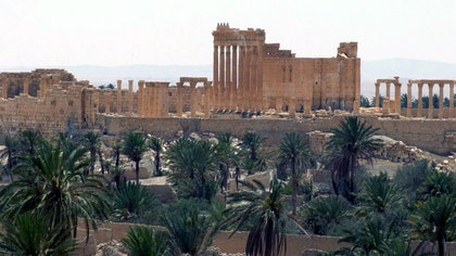 Syrian officials were scrambling Wednesday to keep antiquities from the ancient city of Palmyra from falling into the hands of ISIS, as the terror group stormed a nearby area in the Syrian desert.