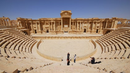 The seizure of Palmyra by Islamic State militants has fueled international concern about the future of the UNESCO World Heritage site. The ancient oasis city suffered damage in  during clashes between combatants engaged in the Syrian Civil War, and is now on the frontline of the battle against ISIS. Read on for more historic sites that have been victims of war.