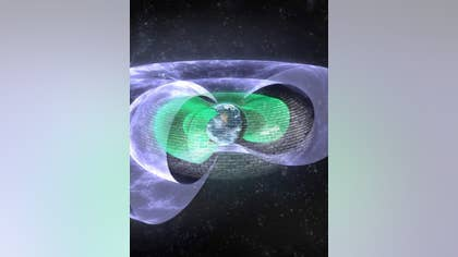 """A team of scientists led by the University of Colorado Boulder has discovered an invisible """"Star Trek""""-style shield that blocks so-called """"killer electrons"""" , miles above Earth."""
