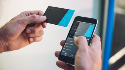 "It's something most people find annoying – bulging wallets filled with easily lost cards. One tech startup is hoping to make life a little easier for those whose pockets are overflowing with plastic. Today, Stratos, Inc. announced the launch of the Stratos Bluetooth Card, an all-in-one ""smart"" credit card."
