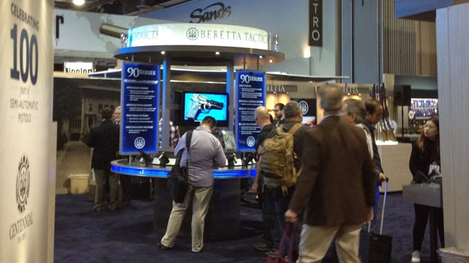 From Bone Collectors and Berettas to Marine Corps Operators, there were pistols for any and every purpose at SHOT Show  last week.