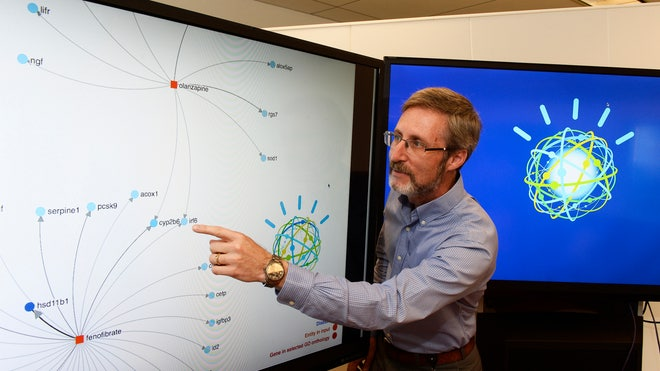 IBM has enhanced its Watson supercomputer, famous for its appearance on the quiz show Jeopardy, in an attempt to speed up the pace of scientific breakthroughs.