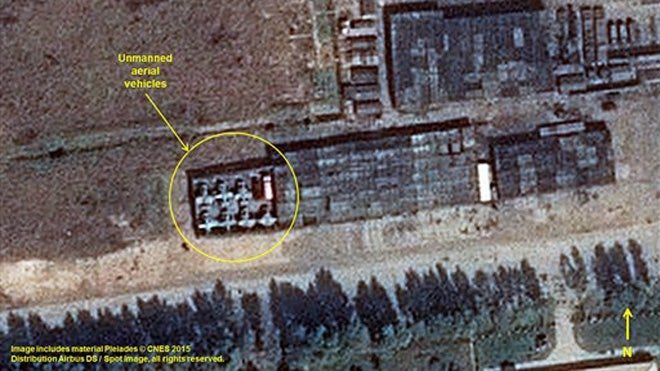Satellite imagery shows North Korea has erected a tented city and mobilized hundreds of trucks and armored vehicles in preparation for a massive military parade marking the th anniversary of the ruling party.