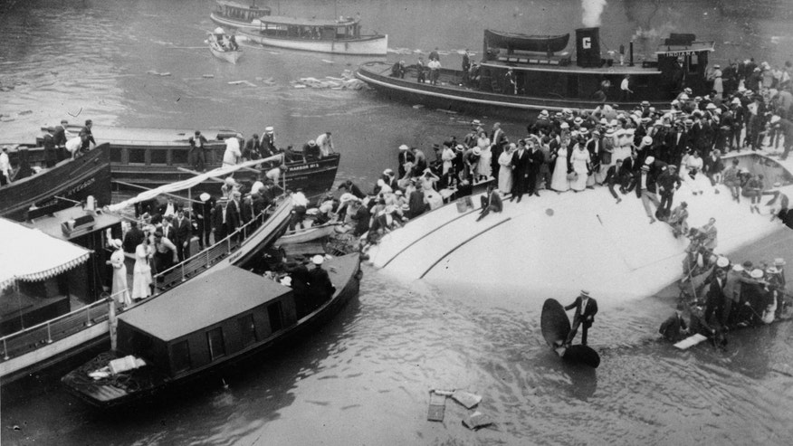 Mystery footage found of 1915 Chicago River disaster