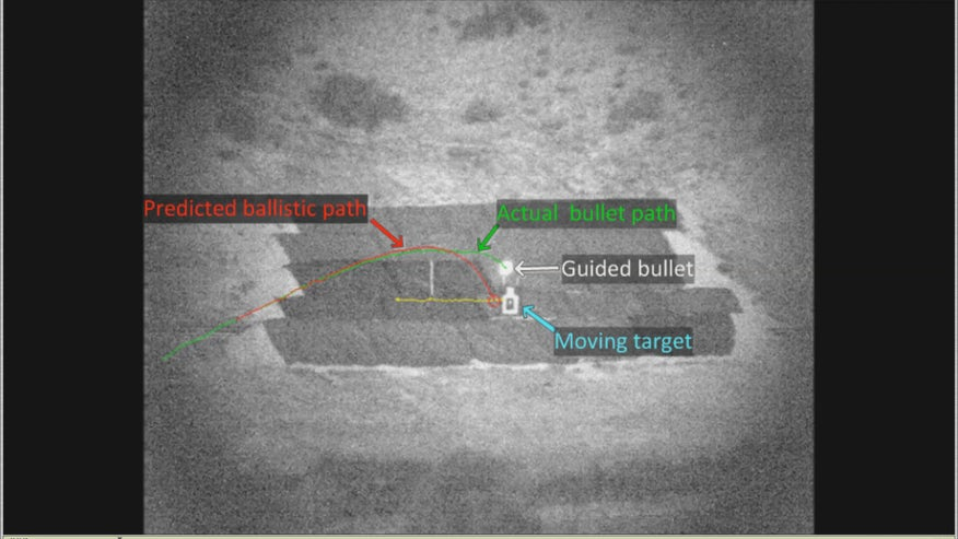 DARPA demonstrates breakthrough in self-guided bullets