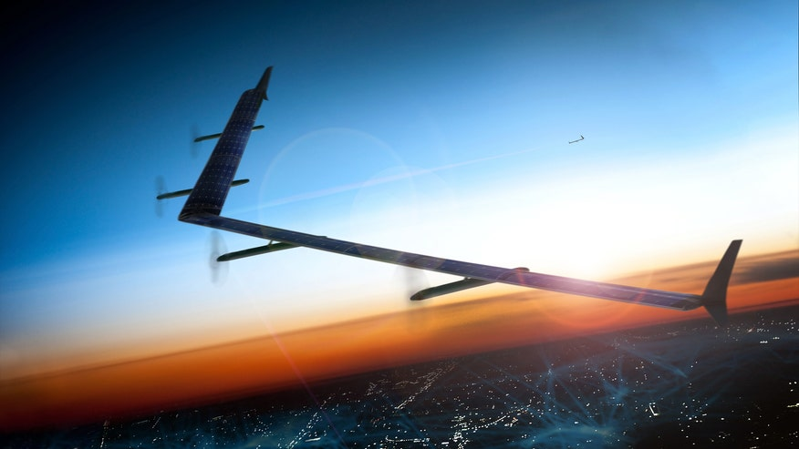 Facebook touts huge solar-powered drone