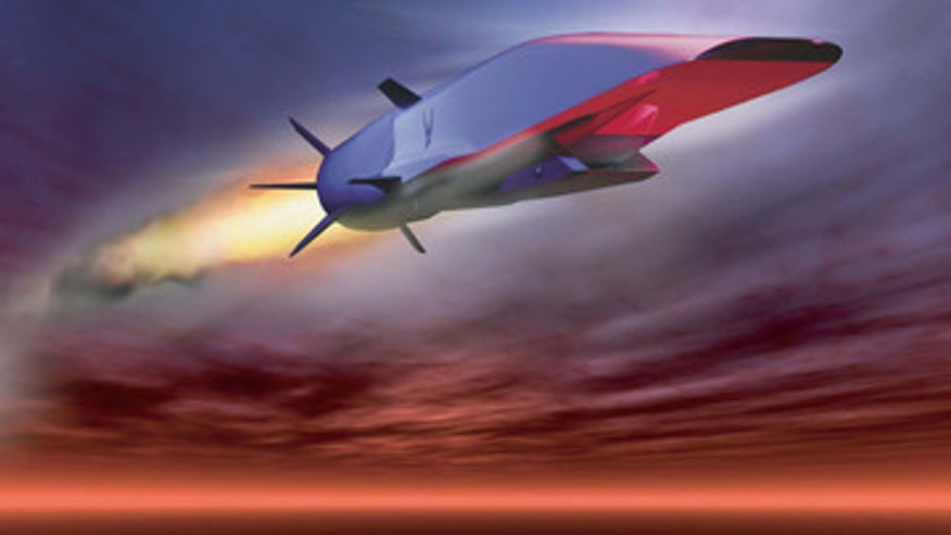 US military's hypersonic jet could fly 5 times the speed of sound
