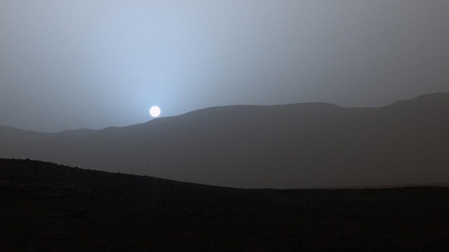 sunset on mars nasa - photo #7