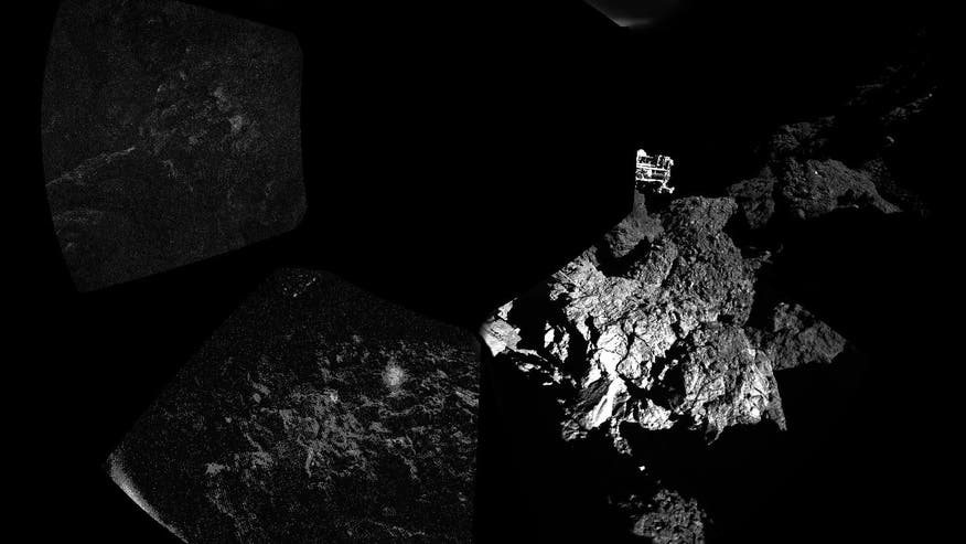 Comet lander still 'talking,' but scientists face race against time