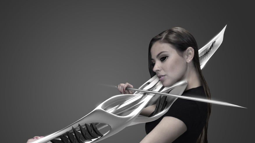 Here's a futuristic 3D-printed violin that could double as a lethal weapon