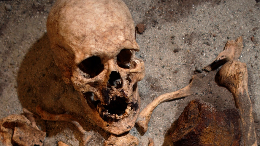'Bulgarian Indiana Jones' discovers 'vampire grave'
