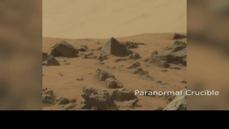 The truth is out there: Did NASA Rover find a pyramid on Mars?
