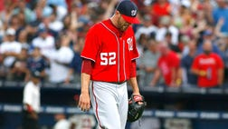 Washington manager Davey Johnson made the announcement after the Nationals' - loss to the San Francisco Giants on Monday night, one day after Mattheus was injured.