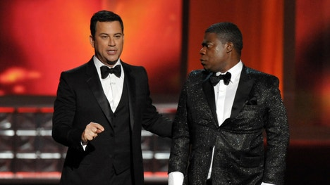 Jimmy Kimmel's interactive stunt during the th Primetime Emmys sparked as many as , tweets.