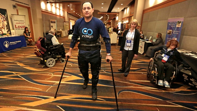 Lightweight, portable wearable robot holds promise for paralyzed patients