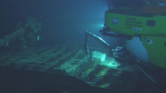 World War II-era Japanese mega-submarine discovered off Hawaii