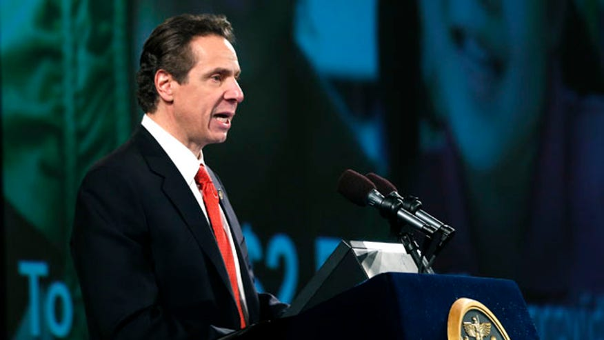 ... Cuomo announces New York will allow limited use of medical marijuana