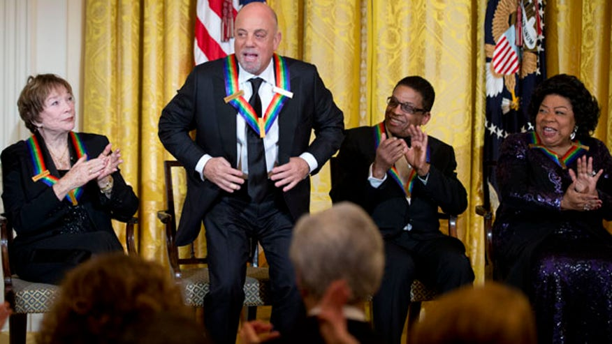 Billy Joel, 4 others receive Kennedy Center Honors | Fox News