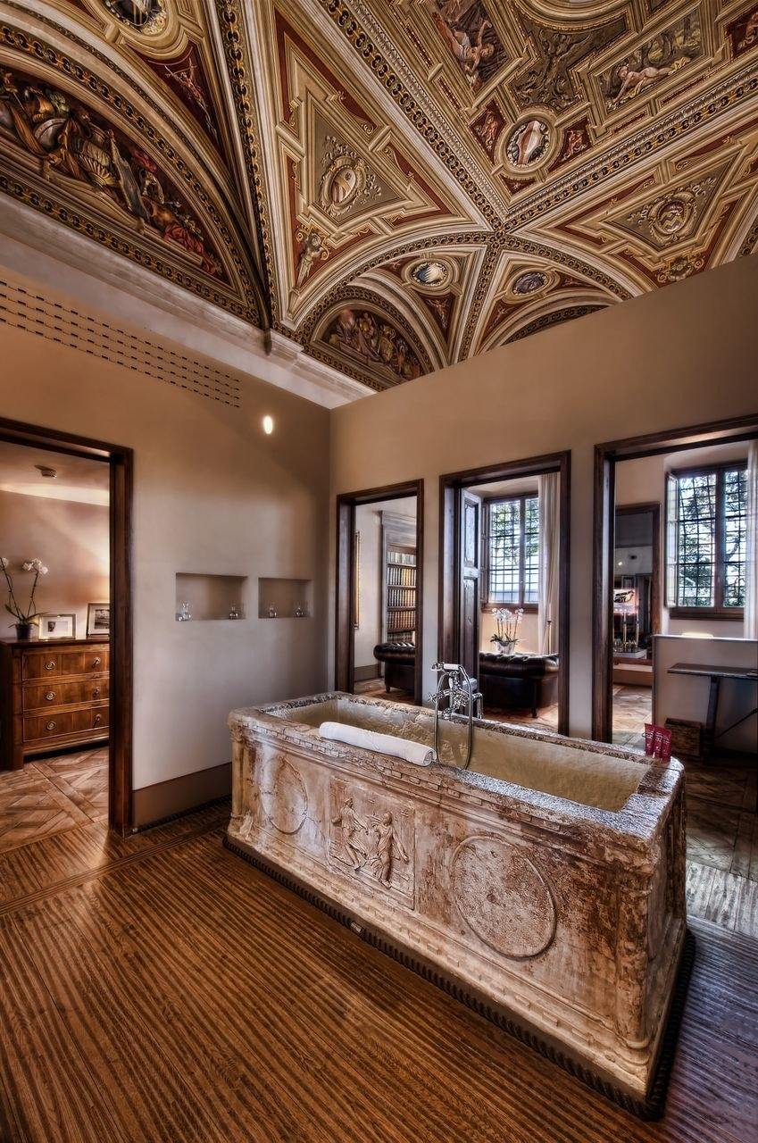 The world 39 s most beautiful hotel bathrooms fox news for Beautiful hotels of the world
