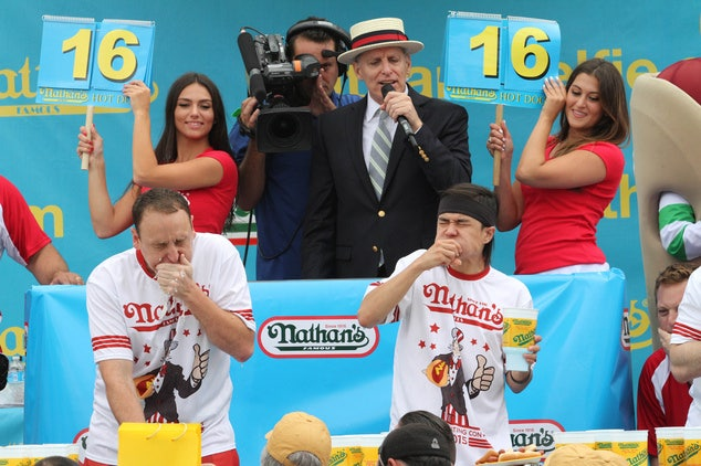 Nathan's Famous celebrates 44th annual Coney Island hot dog eating contest