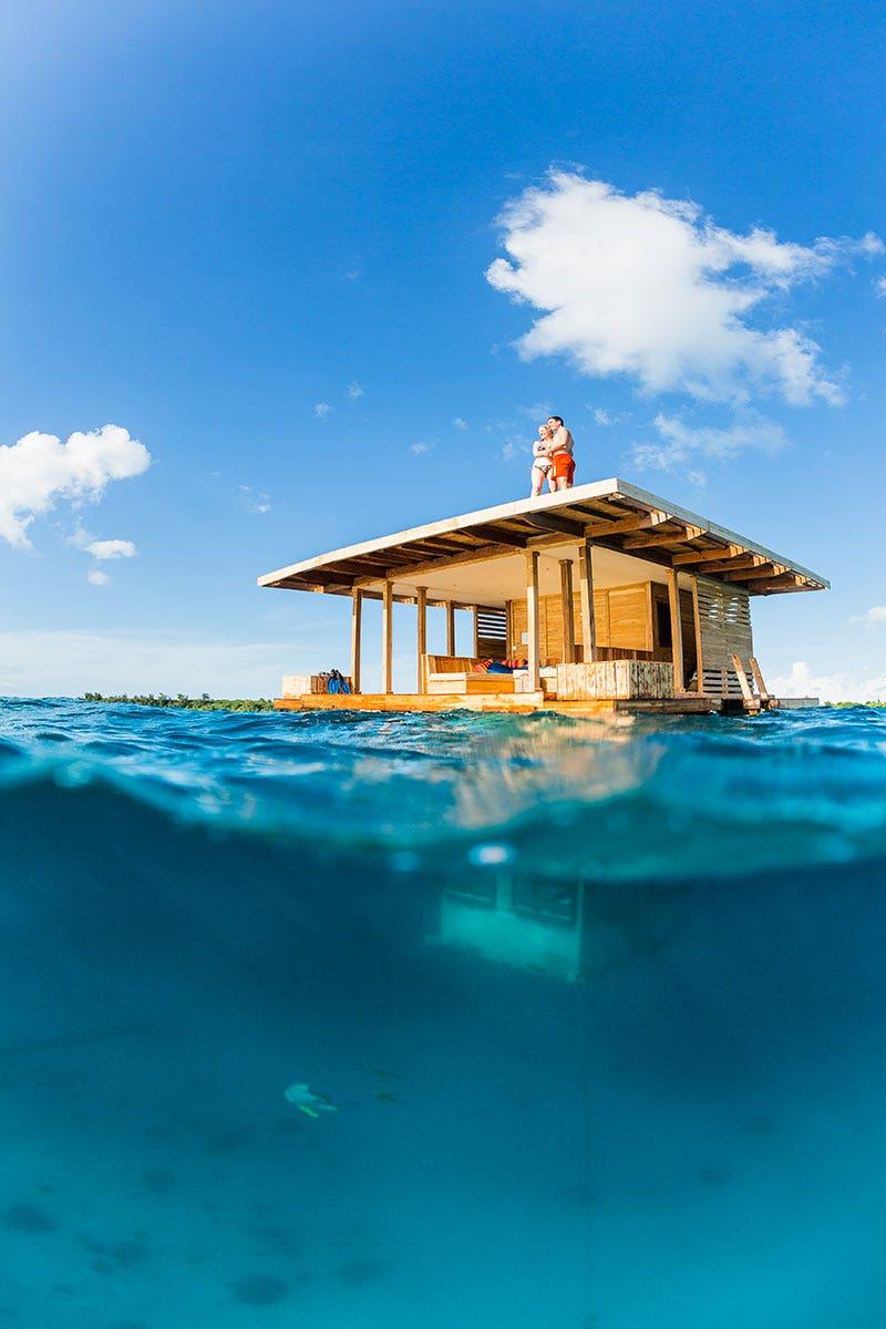 Luksus undervanns resort i Fiji Aldri dukket Overføring - Dallas Luksus Reise
