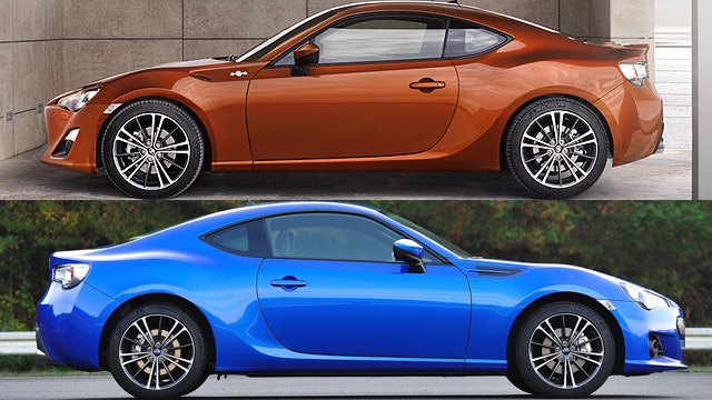 toyota gt 86 vs subaru brz slideshow fox news. Black Bedroom Furniture Sets. Home Design Ideas