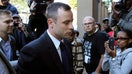 Wrapping up five days of relentless cross-examination of Oscar Pistorius at his murder trial, the chief prosecutor insisted Tuesday that he intentionally shot his girlfriend to death after they argued and -- in a final exchange -- urged the Olympic athlete to take responsibility for the Valentine's Day killing.