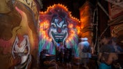 Hundreds of thousands of visitors from around the world flock to Universal Orlando for this signature Halloween Horror Nights extravaganza-- now in it's th year.