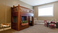 When it's too cold for tree houses and playhouses, create a cozy kids' hideaway indoors