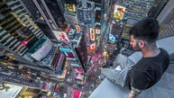 Eddie, an adrenaline-seeking photographer based in New York City, scales skyscrapers in search of the perfect shot.