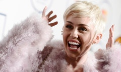 Miley Cyrus is in the hospital and unable to perform her Bangerz concert in Kansas City, Mo., as planned.
