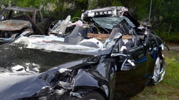The driver killed when his Tesla sedan crashed while in self-driving mode was traveling at  mph above the speed limit just before hitting the side of a tractor-trailer, federal accident investigators said Tuesday.