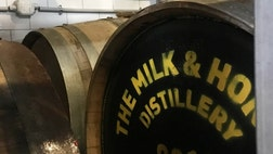 The team wants to produce a bourbon and a rye-based whiskey in the coming years.