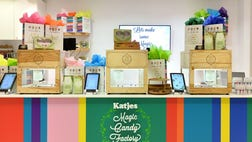 Dylan's Candy Bar has linked up with Magic Candy Factory to launch -D printing of confection in their stores.