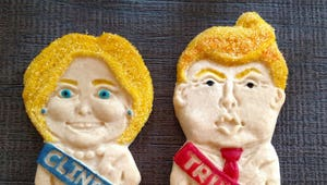 What will you munch on while watching the first debate?