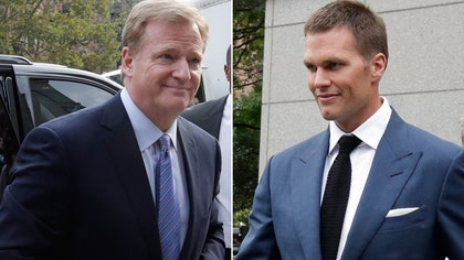 Last-minute settlement talks between lawyers for NFL Commissioner Roger Goodell and New England Patriot
