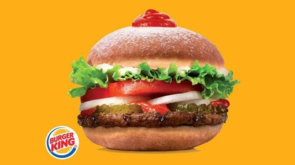 A traditional Hanukkah holiday treat will be combined with a Burger King classic.