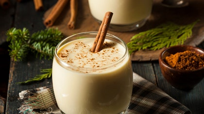 Eggnog is actually a pretty versatile ingredient.