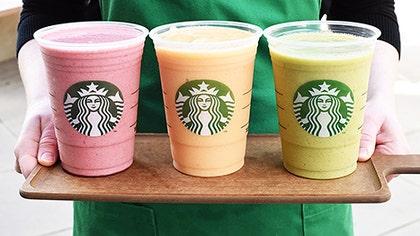 The coffee chain has partnered with yogurt giant Dannon.
