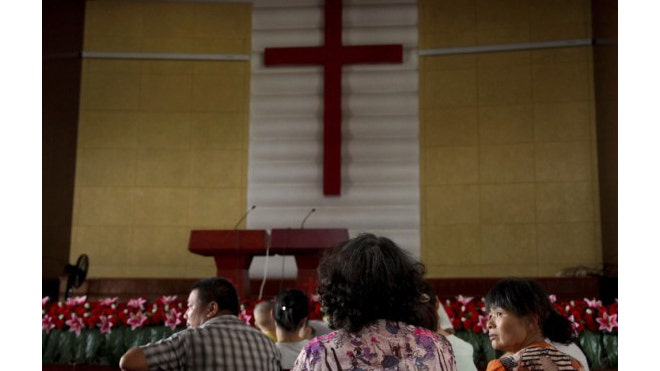 A Christian pastor was arrested and sentenced to year in prison in China for standing up for churches that were having crosses removed by the government.