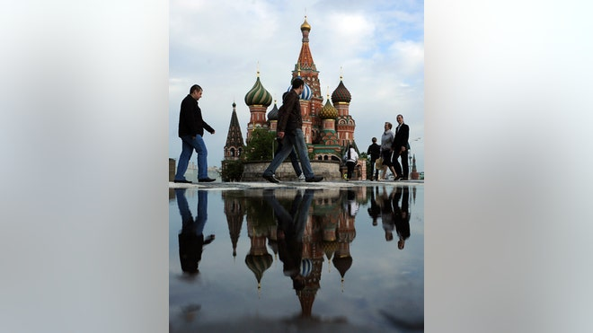Moscow Red Square, Reuters
