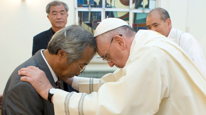 Pope Francis made his strongest gesture yet to reach out to China on Sunday, saying he wants to improve relations and insisting that the Catholic Church isn't coming in as a conqueror but is rather a partner in dialogue.