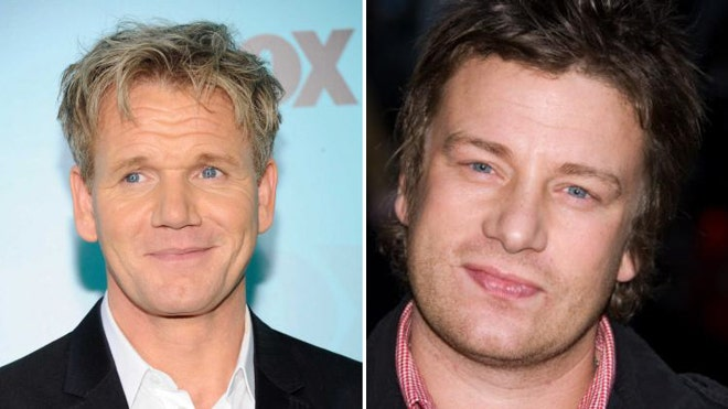 Jamie Oliver and Gorden Ramsay have been feuding for months.