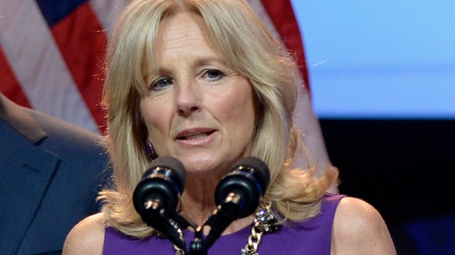 Jill Biden is promoting a new website designed to make it easier for service members, veterans, their spouses and dependents to calculate their Post-/ GI Bill benefits at thousands of schools and job training programs.