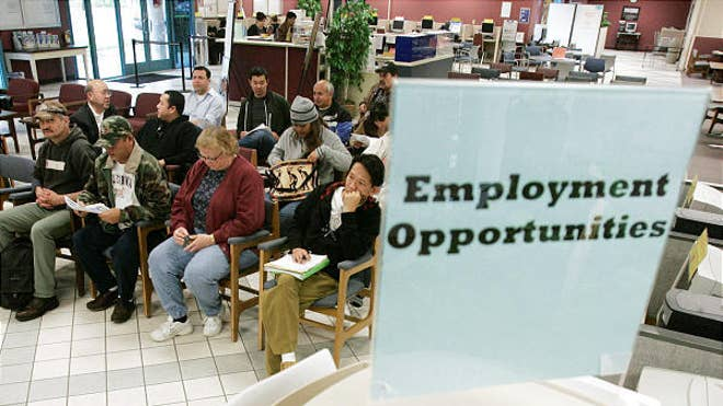 The jobless rate is likely closer to  percent, and the root cause is slow economic growth.