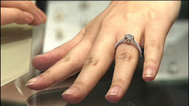 wedding ring hand