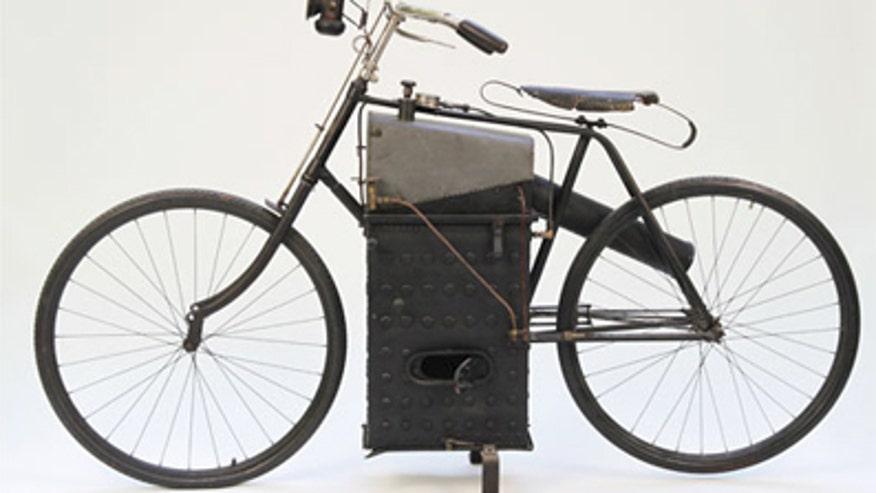 Roper Steam Motorcycle